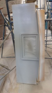 Aft deck and propane locker lid mold.
