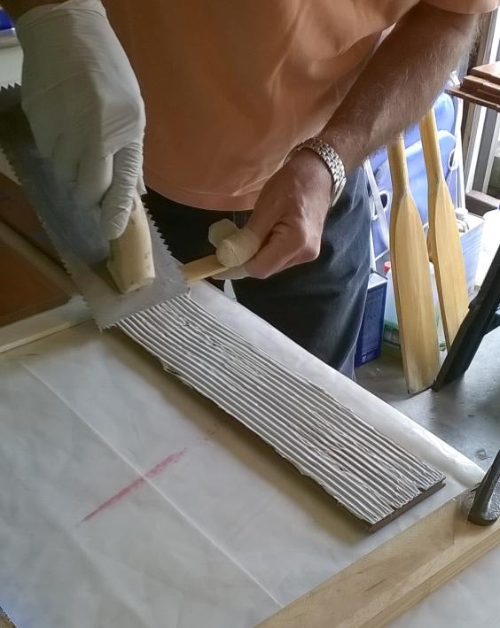 glueing