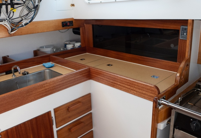 galley with plexi