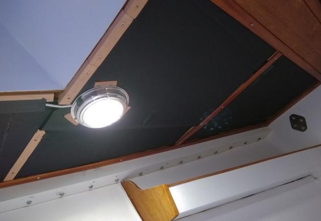 vee berth overhead